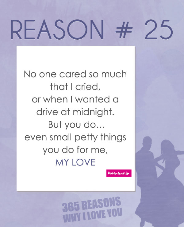 Reasons Why I Love You 25 On We Heart It