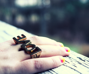 hand, love, and nails image