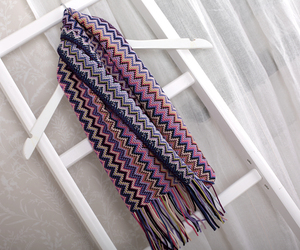 missoni, zigzag, and scarf image