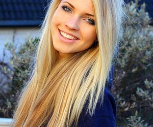 blue, blond, and eyes image