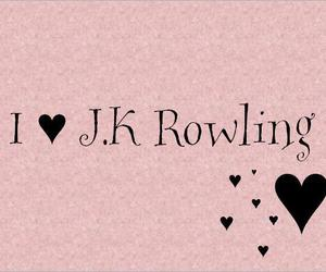 harry potter and jk rowling image