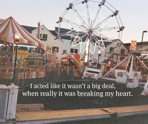 pretend, broke, and heart image