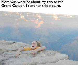 funny, lol, and grand canyon image