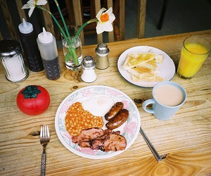 breakfast, film, and lomography image