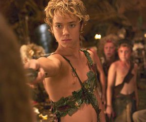peter pan, jeremy sumpter, and boy image