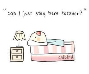 sleep, bed, and forever image