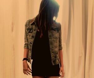 girl, jacket, and cute image