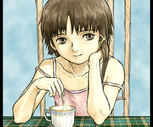 anime, serial experiments lain, and lain image