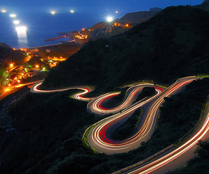 light, road, and photography image