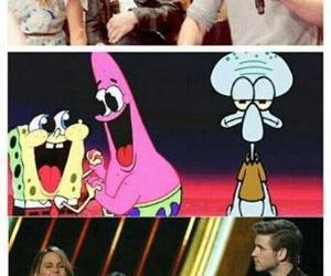 funny, Jennifer Lawrence, and spongebob image