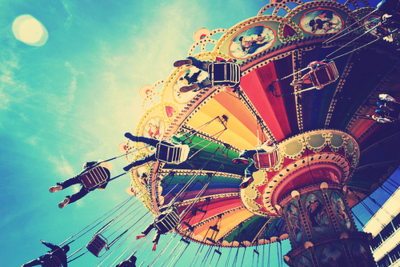 background, beautiful, and carousel image