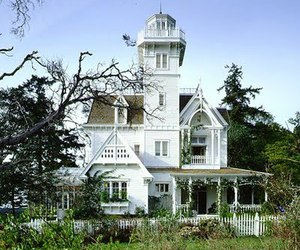 house, Practical Magic, and white image