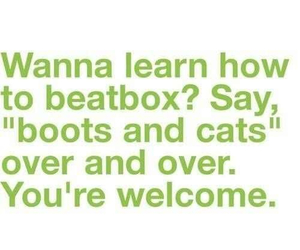 beatbox, boots, and cats image