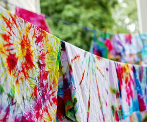 tie dye and colorful image