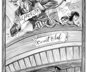 A Series of Unfortunate Events, art, and book image