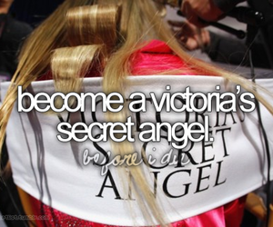 angel, Victoria's Secret, and before i die image