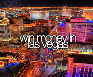 money, Las Vegas, and win image