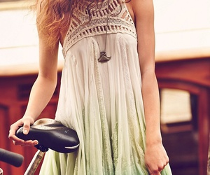 dress, fashion, and summer image