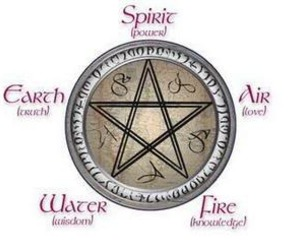 pagan, wiccan, and pentagram image