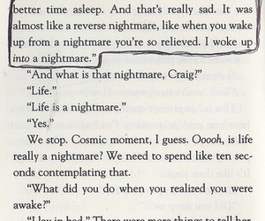 aw, nightmare, and book image