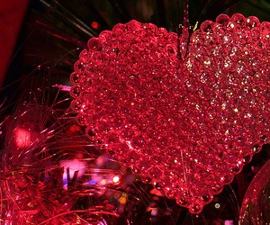 heart, sparkle, and love image