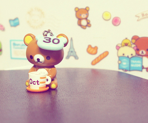 rilakkuma, kawaii, and cute image
