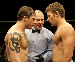 tom hardy, warrior, and joel edgerton image