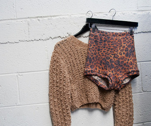 fashion, leopard, and shorts image