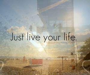 life, live, and text image