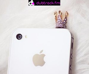 iphone, apple, and crown image