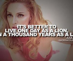 quote and madonna image
