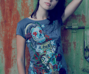 girl and rockabilly image