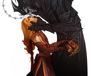 sauron, art, and morgoth image