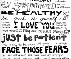 think, yourself, and staystrong image