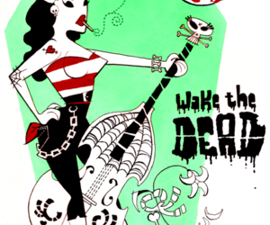 draw and psychobilly image