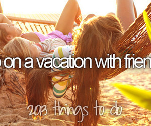 friends, vacation, and summer image