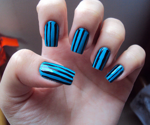 long nails, nail, and nail art image