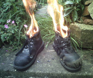 fire and shoes image