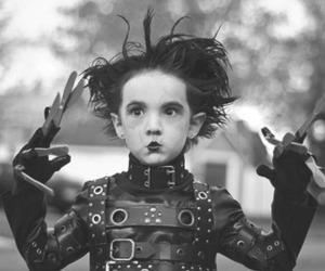 edward scissorhands, kids, and child image