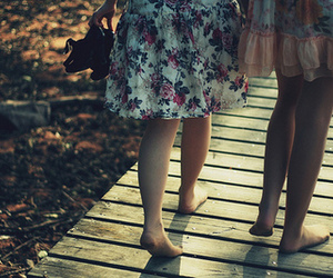 dress, summer, and friends image