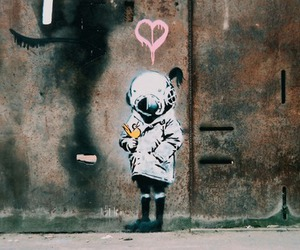 BANKSY and graffiti image