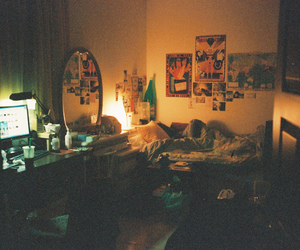 room, vintage, and bedroom image