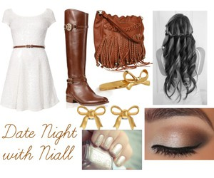 outfits and date night with niall image