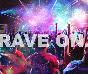 rave, music, and party image
