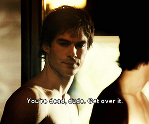 damon, dead, and dude image