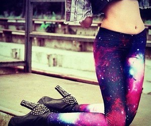 galaxy and shoes image