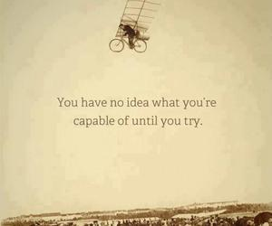 quotes, try, and ideas image