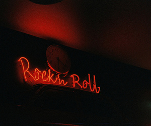 rock, rock n roll, and light image