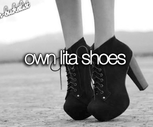 lita, shoes, and bucket list image
