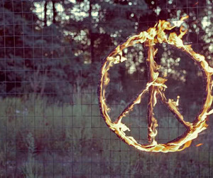 peace and fire image